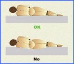 Posturas adecuadas para cuando estás acostado (3).