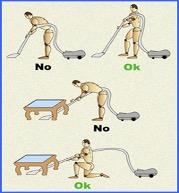 Higiene postural correcta para realizar tareas domésticas (3).