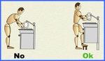 Higiene postural correcta para realizar tareas domésticas (2).